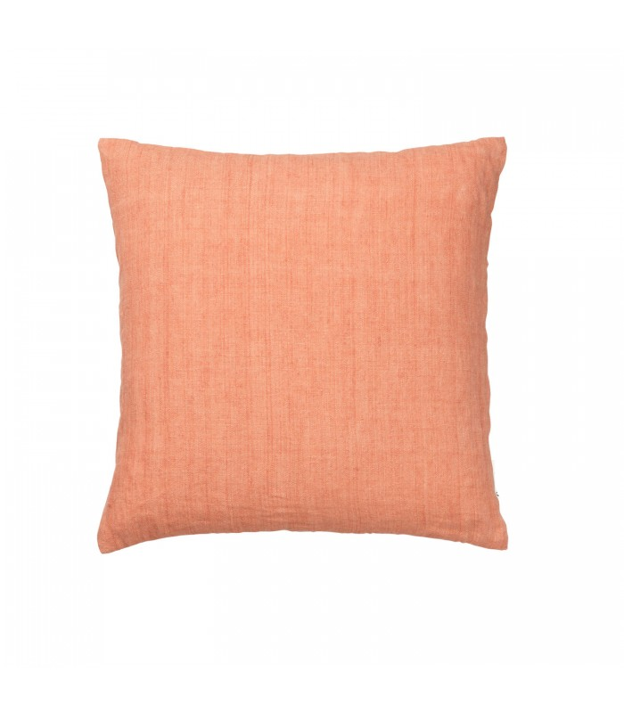Cantaloupe Linen Cushion