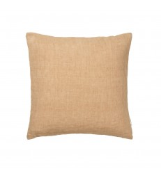 Caramel Brown Linen Cushion