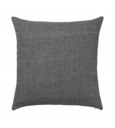 Dark Charcoal Grey Linen Cushion