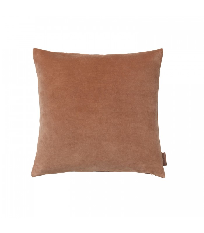 sandstone velvet cushion 50 x 50