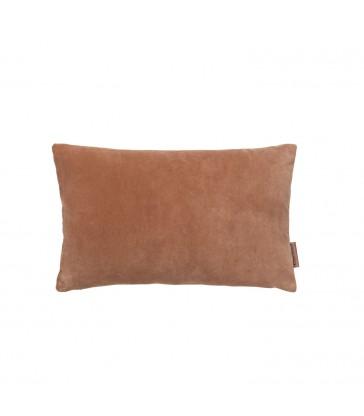 Small Sandstone Velvet Cushion 30 x 50