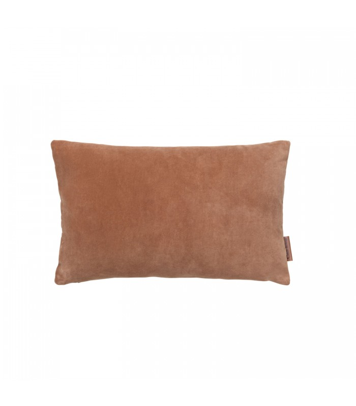 Small Sandstone Velvet Cushion 30 x 50