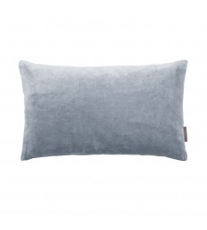 Small Flint Blue Velvet Cushion