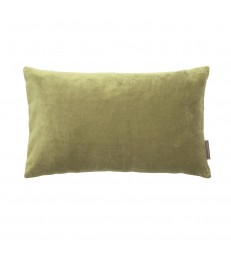 Small Cedar Green Velvet Cushion