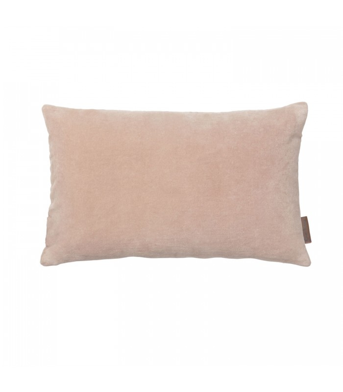 small rose pink velvet cushion from the blue door house and garden