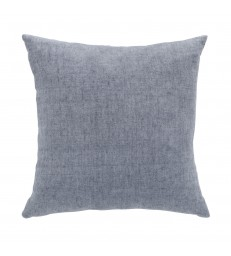 Flint Blue Linen Cushion