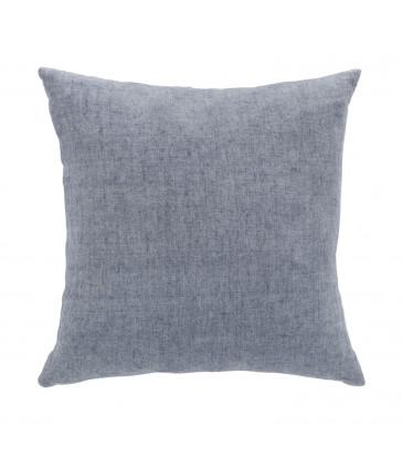 Flint blue linen cushion from The Blue Door