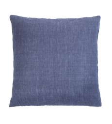 Denim Blue Linen Cushion