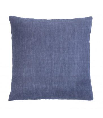 Denim Blue Linen Cushion