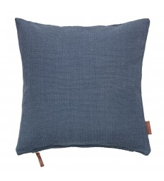Dark Ocean Blue Hand Loomed Cushion