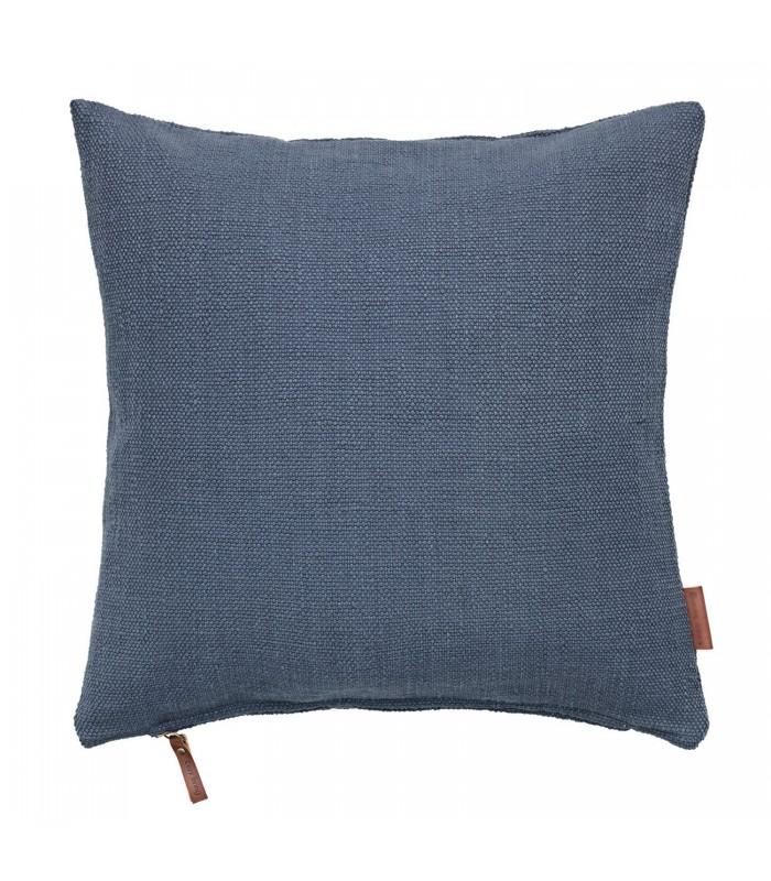 Dark Ocean Blue Hand Loomed Cushion
