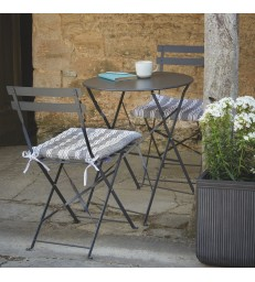 Bistro Table & Chairs - Carbon