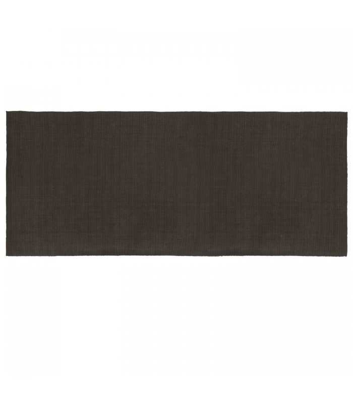 Coffee Brown Jute floor rug perfect for a long narrow space like your hallway or corridor