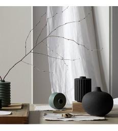 Round Dark Blue Mirage Ceramic Vase