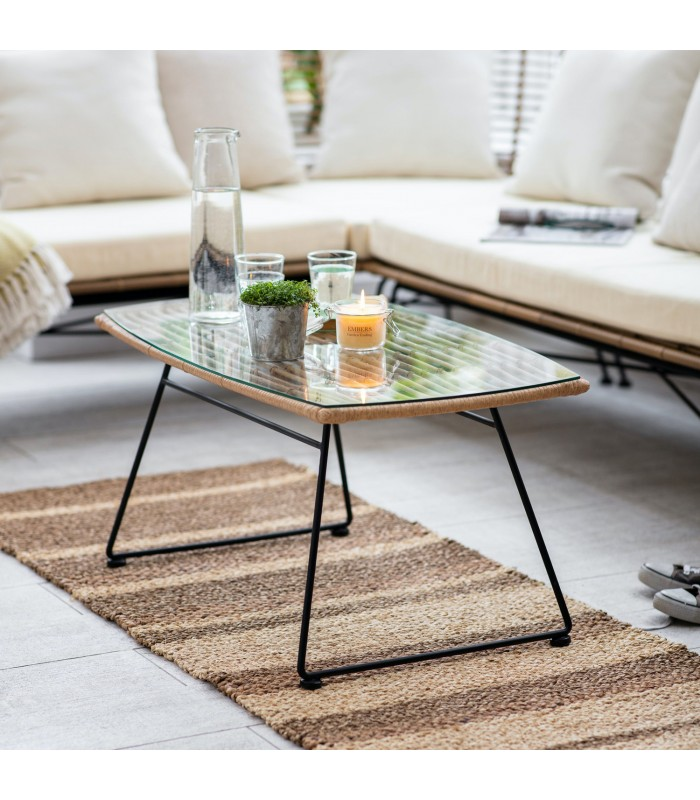 All weather Bamboo Coffee Table