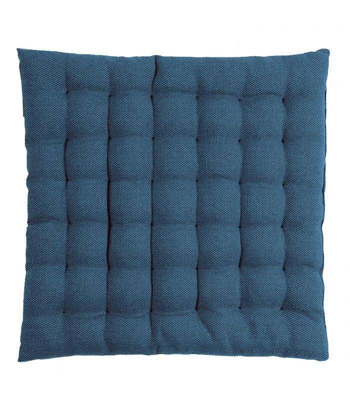 cotton seat cushion is dark navy blue