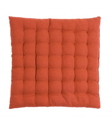 rust orange pepper seat cushion from the blue door