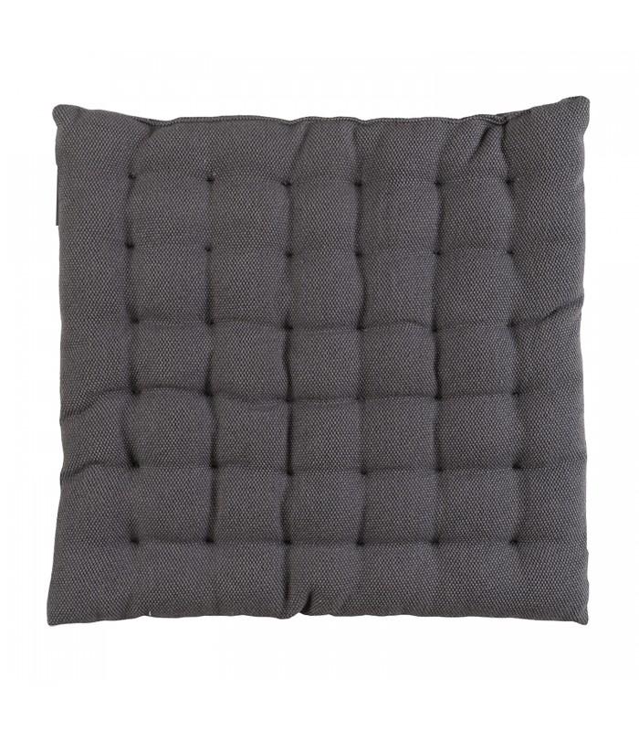 dark grey pepper seat cushion at the blue door shop