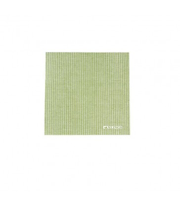 Leaf green paper napkins pack of 50