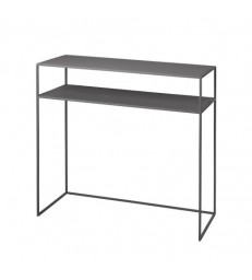 Console Table - Grey Powder Coated Steel