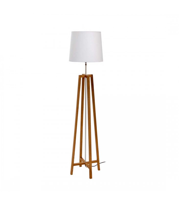 Floor Lamp with Cone Shade