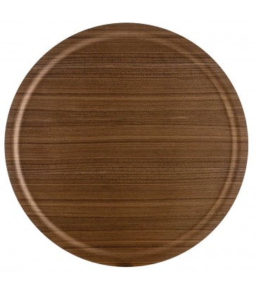 walnut tray for the tray tables round 49cm diameter