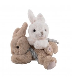 Baby Bunny Rabbit Teddies - 2 colours