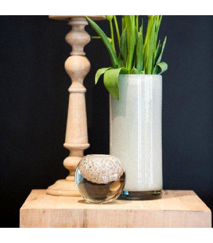 White Bubble Vase