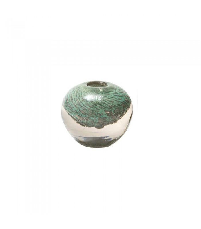 Jade Glass Bubble Vase