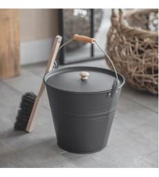 Ash Bucket - Carbon colour