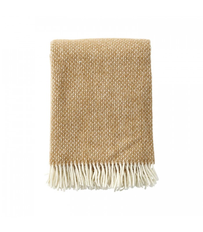FRECKLES Amber Wool Throw
