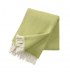 POLKA Lime Wool Throw