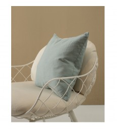 Pale Green Pure Linen Cushion