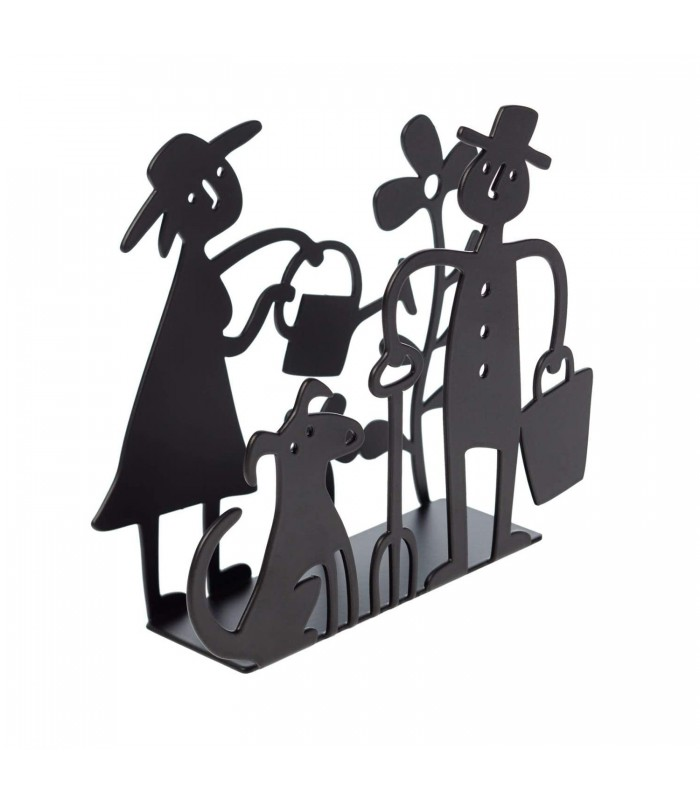Garden Black Napkin Holder