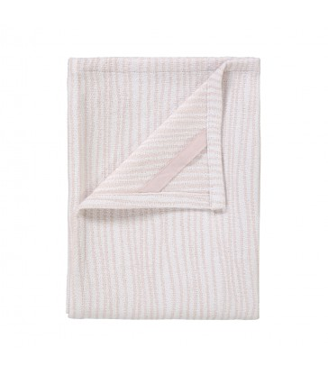 Tea Towel White/Rose