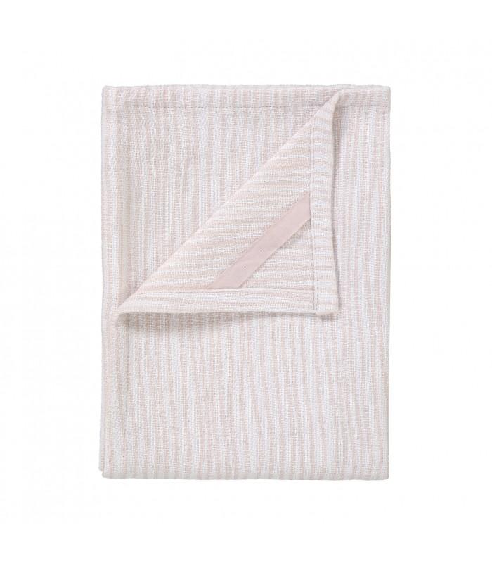 Tea Towel White/Rose