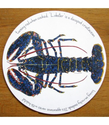 Tablemat Lobster