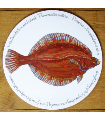 Tablemat Plaice