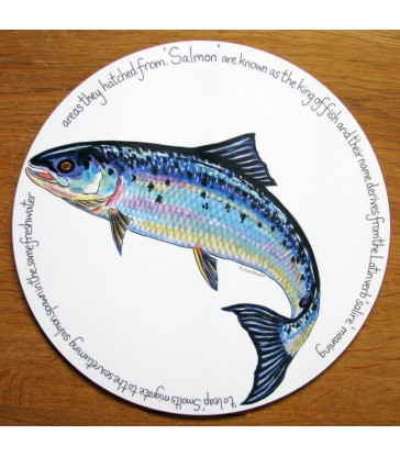 Tablemat Salmon