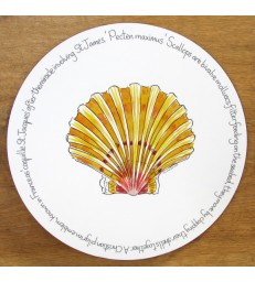 Tablemat Scallop