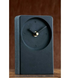 Irish Desk Clock Black