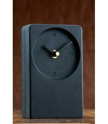 Irish Desk Clock Black