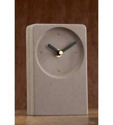 Irish Desk Clock Grey