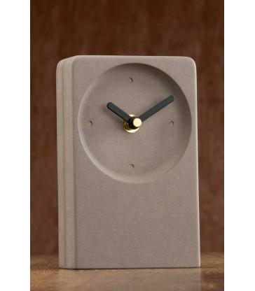 Irish Desk Clock Grey