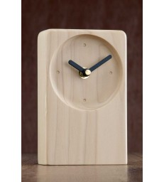 Irish Desk Clock Natural