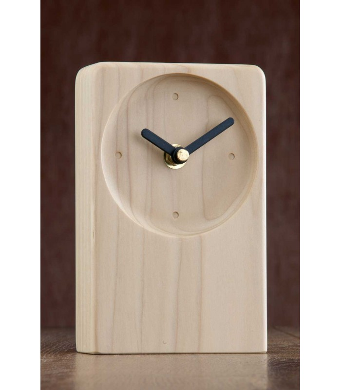 Irish Desk Clock Natural
