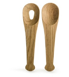 Salad Set Oak