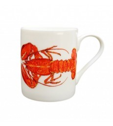 China Mug Lobster Red