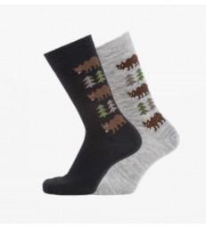 Merino Socks - Bear