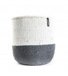 Basket Grey/White - 2 Sizes